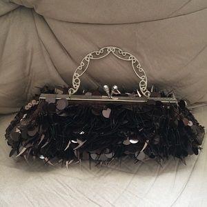 Vintage Sequin Purse Handbag